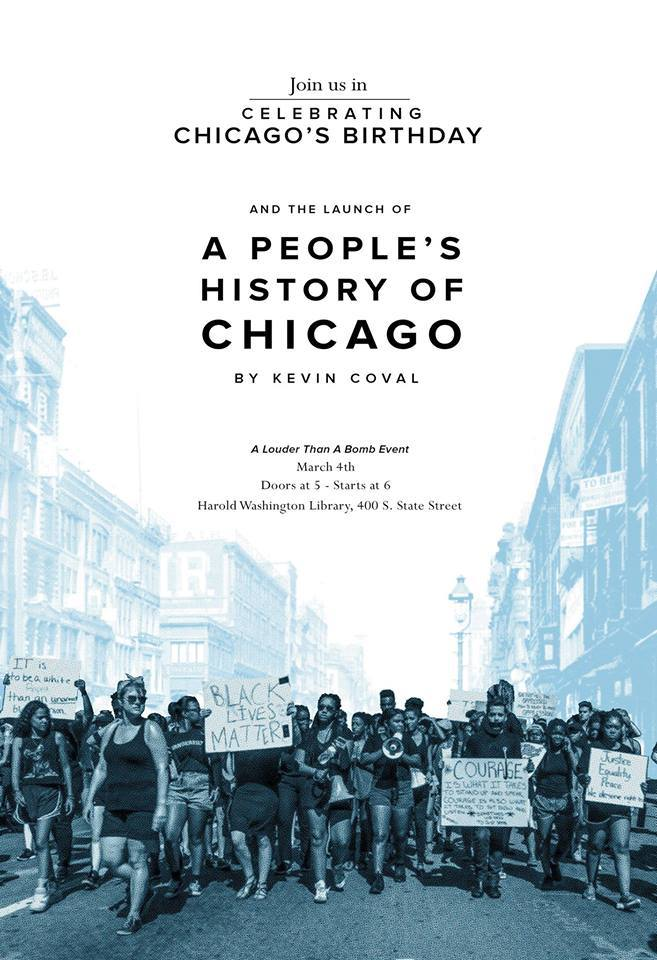MCC Attends - The Launch of A People's History of Chicago
