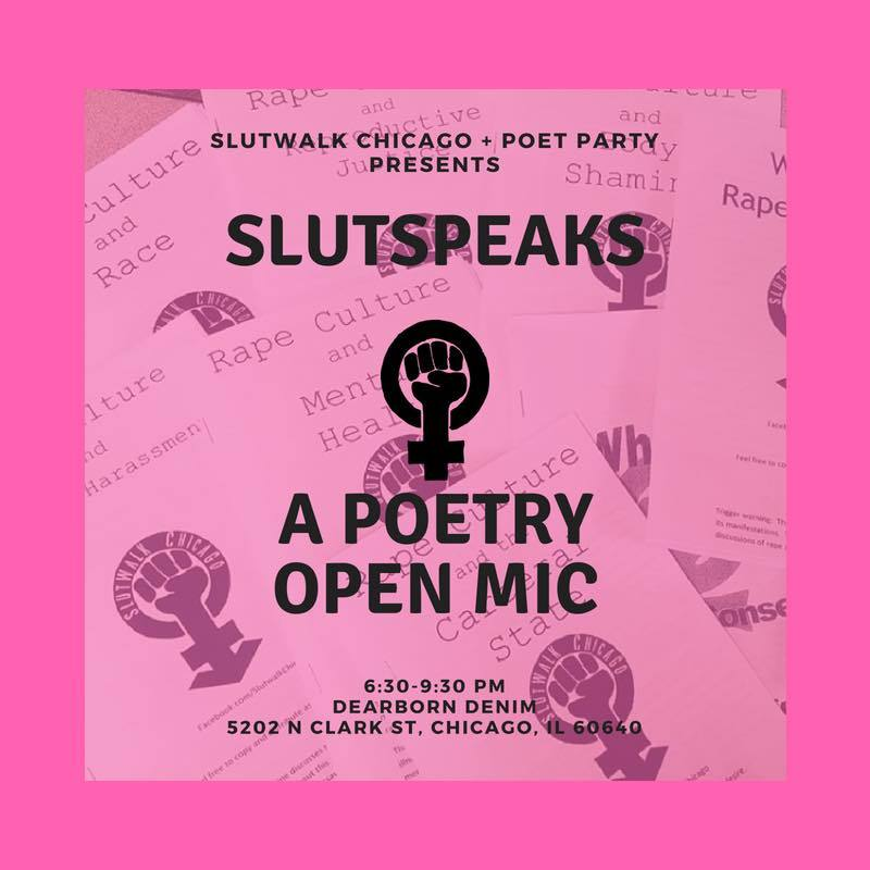 CommunityCave Attends SLUTSPEAKS - A Poetry Open Mic